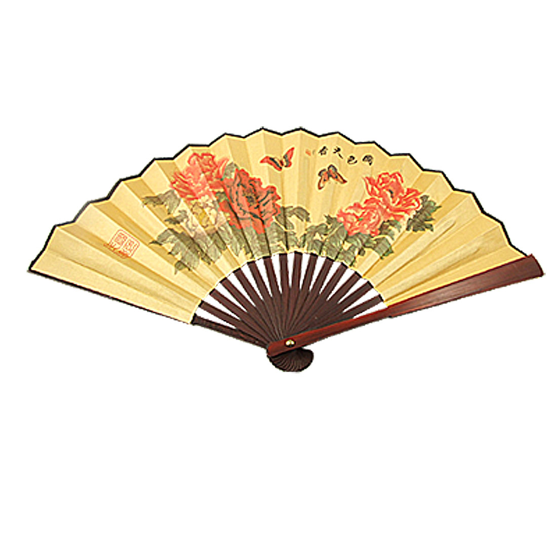 Bamboo Folding Fan Openwork Held Folding Fan Various Style Patterns for Wedding Home Office Decorations Gifts