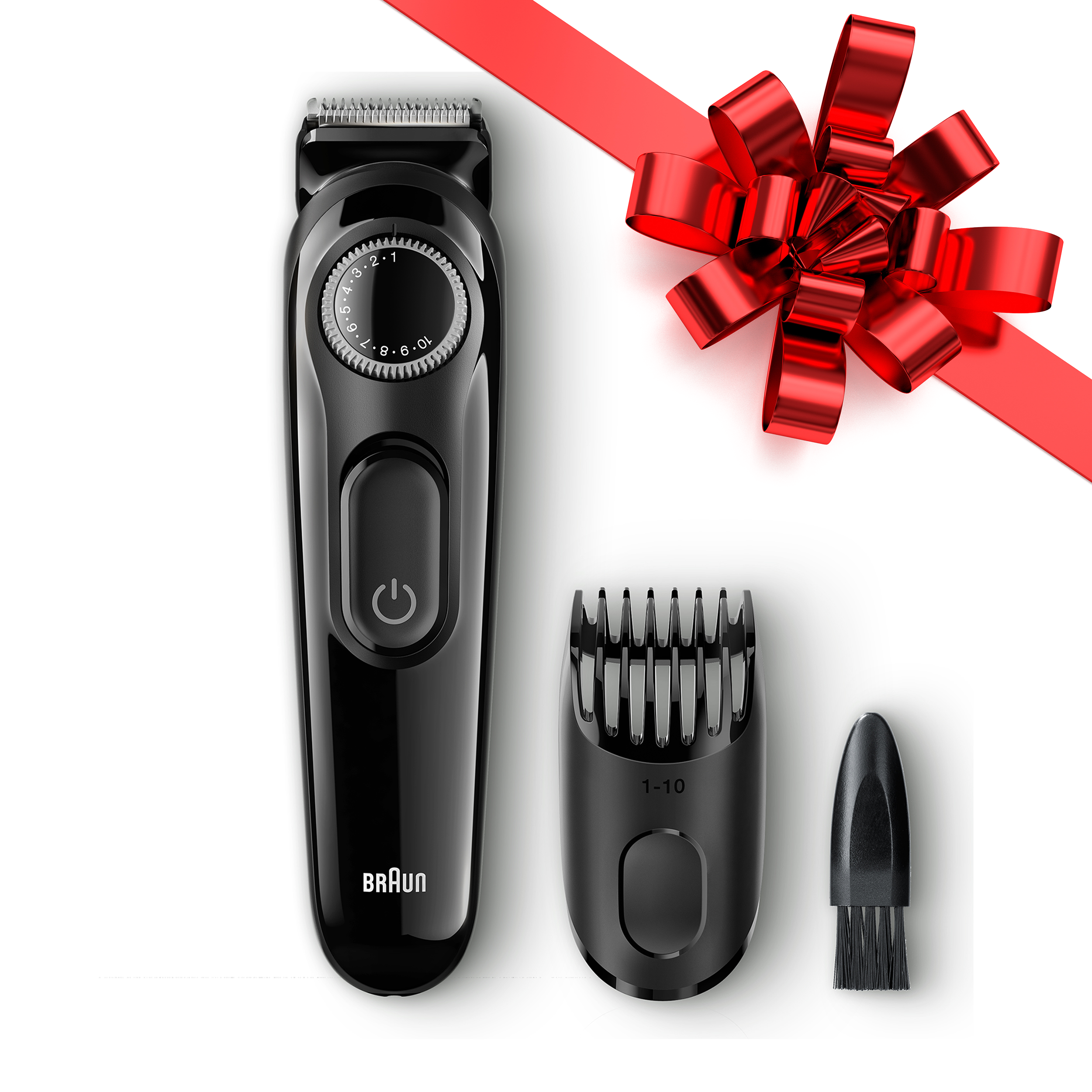 Braun BT3020 ($5 Rebate Available) Men's Beard Trimmer, 20 Precision Length Settings for Ultimate Precision, Includes Adaptable Comb