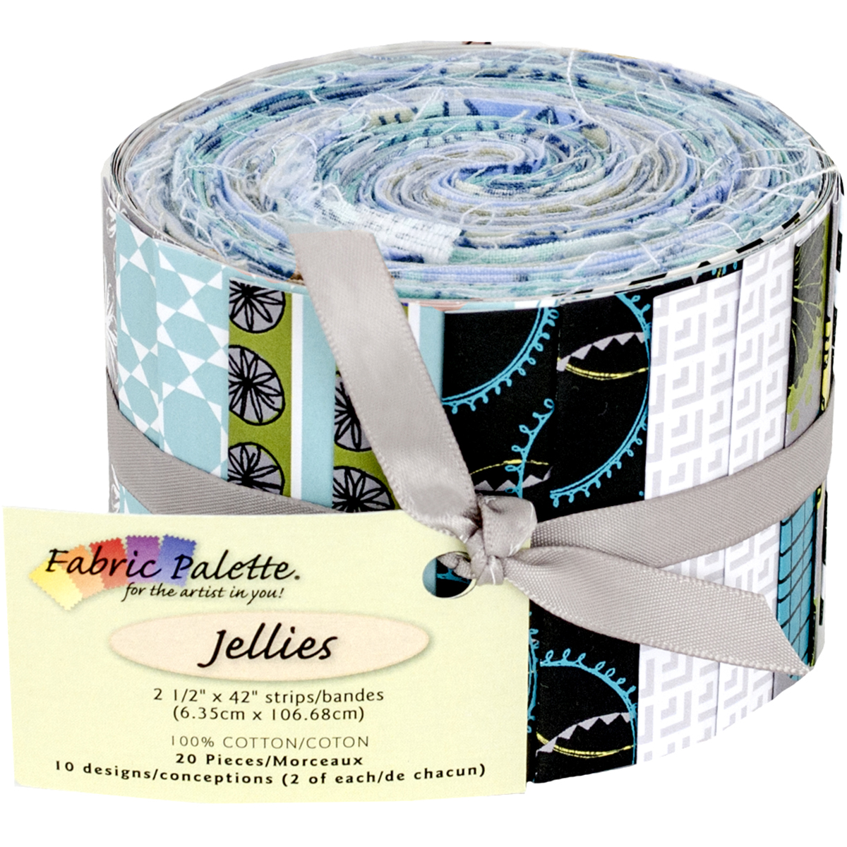"Mallowway Jellies 2.5""X42"" 20/Pkg-Multi"
