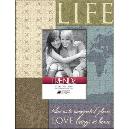 - Timeless Frames Trendz Life Decoupage Tabletop Photo Frame