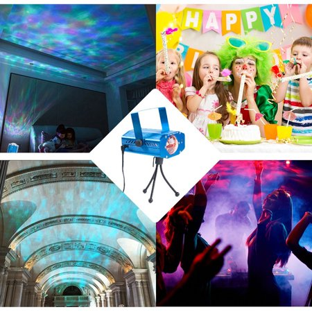 Ktaxon Led Disco Dj Party Laser Lights Mini Auto Flash 7 Rgb Color Stage Strobe Lights Sound
