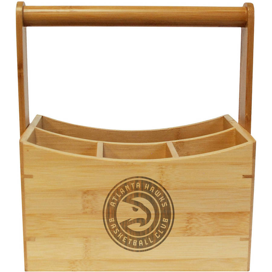 Click here to buy NBA Team Engraved Utensil Caddy.