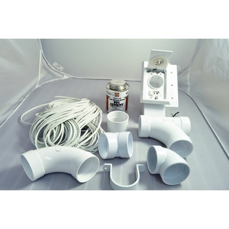 Beam Central Vacuum Installation - Central Vacuum Cleaner 6 Inlet Installation Kit 06-0698-02