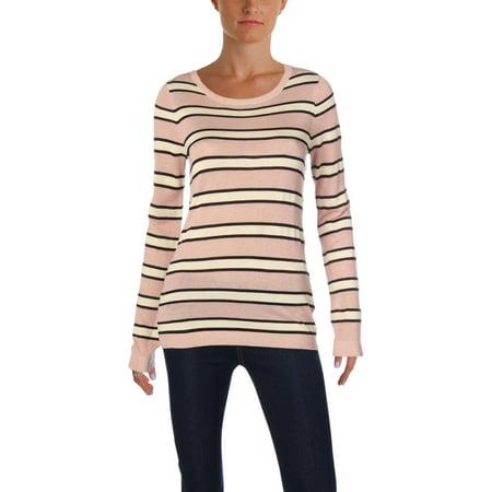 Scotch & Soda Womens Metallic Striped Pullover Sweater (Scotch And Soda Sweater)