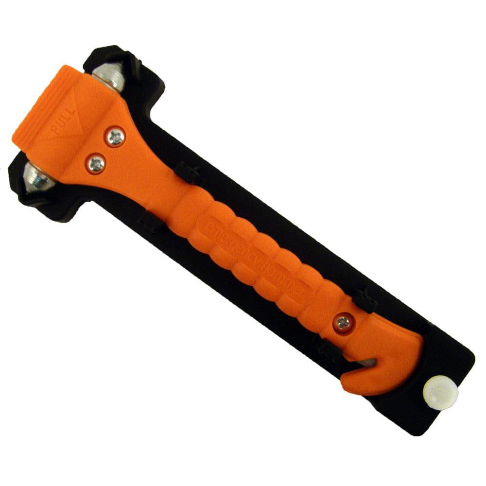 Emergency Hammer Window Punch and Seat Belt Cutter