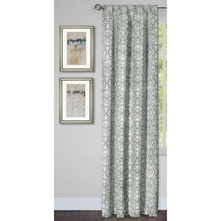 Traditional Elegance Park Ave Window Curtain Panel - 54x84 - Silver 95 Buick Park Ave
