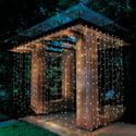 Better Homes & Gardens 16ft (8ftx2) LED Micro Curtain Light Set
