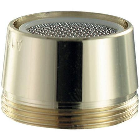 Low Flow Aerator (Plumb Craft Waxman 7610230LF Brass Low Lead Dual Aerator )
