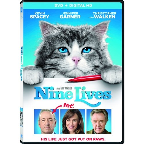Nine Lives (DVD   Digital HD) (Widescreen)