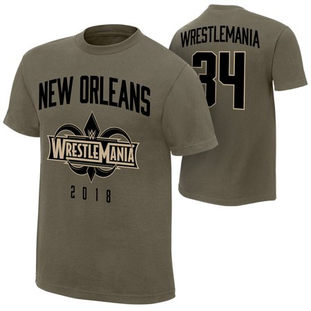 Official WWE Authentic WrestleMania 34