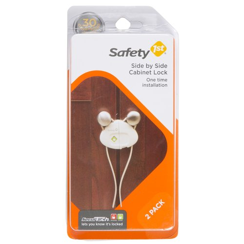 Safety 1st Side By Side Cabinet Lock 2-Pack