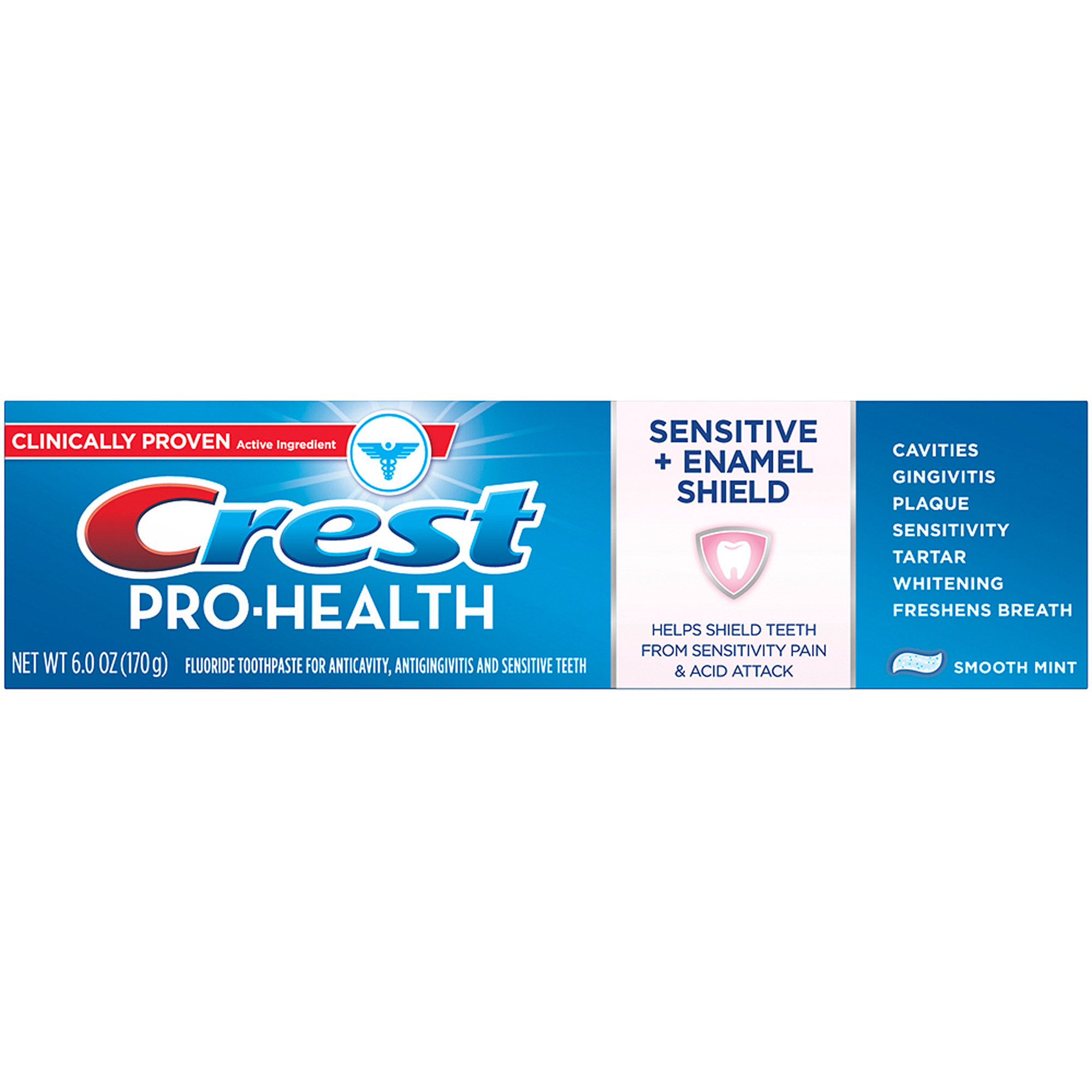 Crest Pro-Health Enamel Shield Toothpaste, Fresh Mint - 6 oz