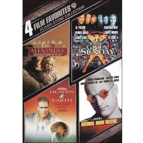 Oliver Stone Collection: 4 Film Favorites - Any Given Sunday / Alexander / Natural Born Killers / Heaven And Earth (Widescreen)