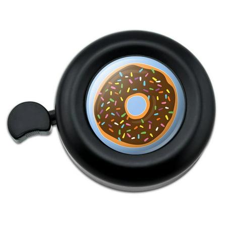Chocolate Sprinkle Donut (Cute Donut with Sprinkles Chocolate Icing Bicycle Handlebar Bike)