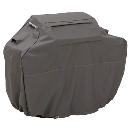 Classic Accessories Ravenna® Grill Cover - Premium BBQ Cover with Reinforced Fade-Resistant Fabric, XX-Large, 72-Inch L, Espresso ()
