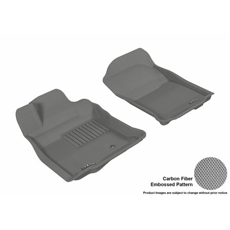 3D MAXpider 2013-2016 Toyota 4Runner Front Row All Weather Floor Liners in Gray with Carbon Fiber Look - Walmart.com