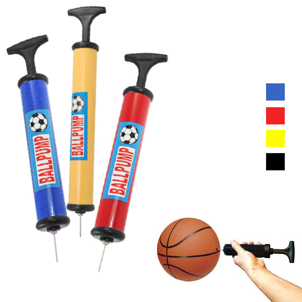 48 Hand Ball Pump Manual Air Inflate Sport Basketball Football Volleyball Needle