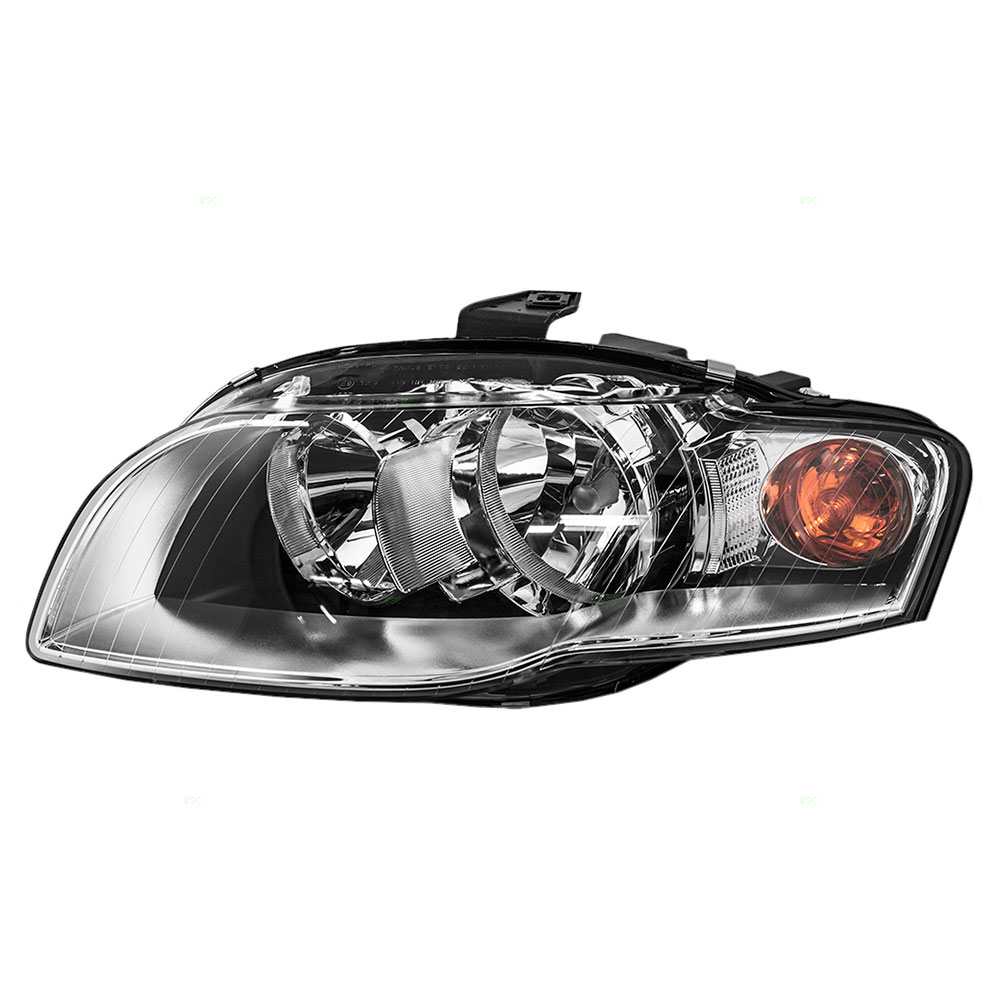 Drivers Halogen Headlight Headlamp Replacement for Audi 8E0941003AL