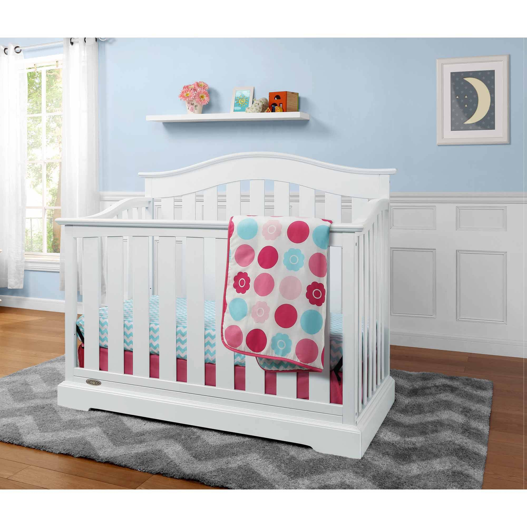 Graco Westbrook 4-in-1 Convertible Fixed-Side Crib