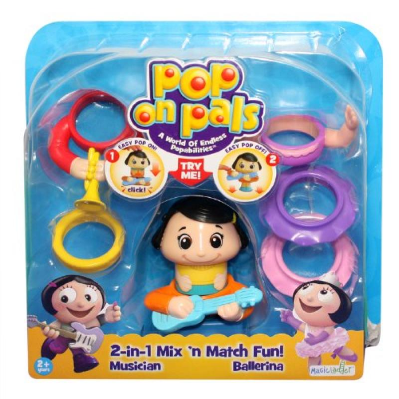 Pop On Pals Figure Musician/Dancer Girl Pack Multi-Colored 20028028