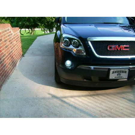 2007-2012 GMC Acadia Angel Eye Fog Lamps Driving Lights Kit
