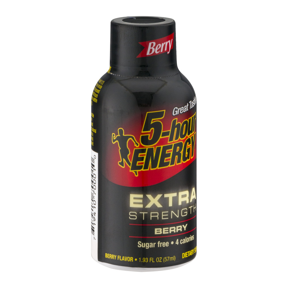 5-Hour Energy Extra Strength Energy Shot, Berry, 1.93, 1 Count