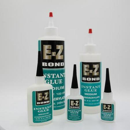 Instant Bond Activator (E-Z Bond Instant Glue Medium - 8 oz. )