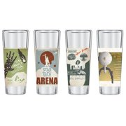 Star Trek: The Original Series Fine Art Shot Glasses Set #5: Set of 4 by Entertainment Earth