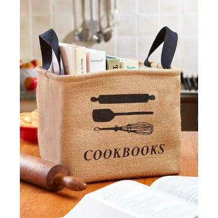 The Lakeside Collection Cookbook Storage Bin - Storage Bin ()