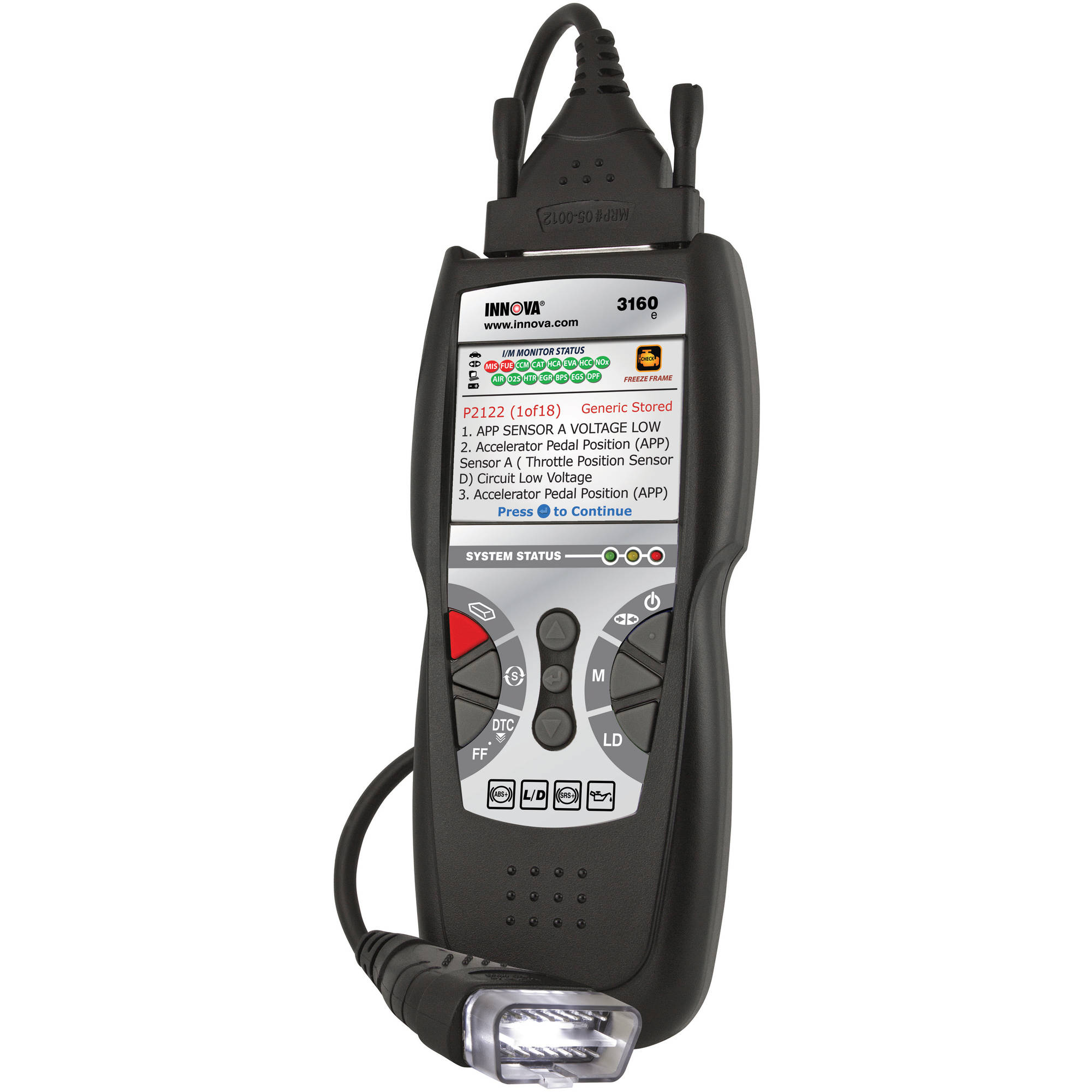 Innova ABS and Professional Diagnostic Code Scanner