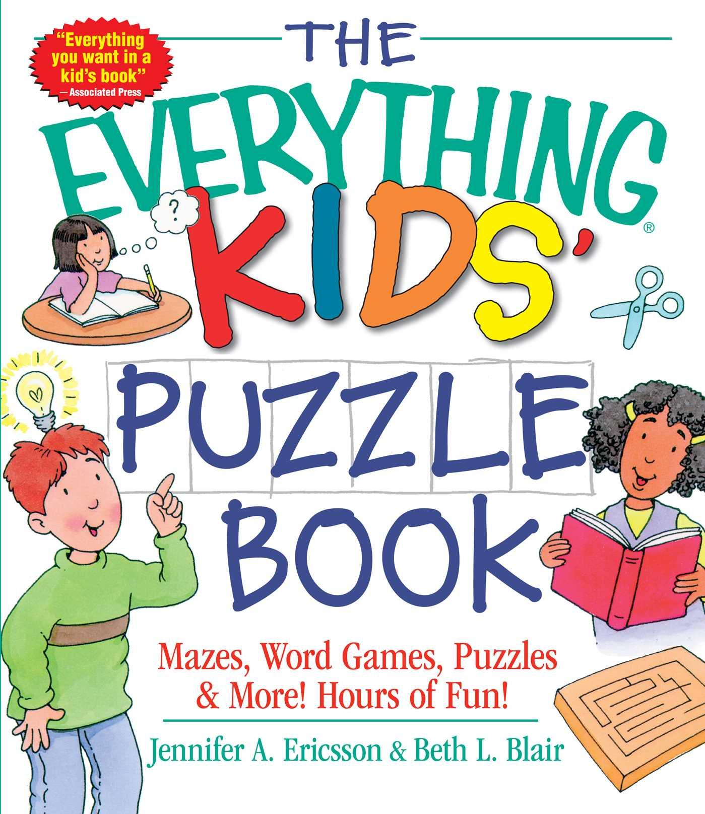 The Everything Kids' Puzzle Book by Everything