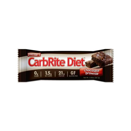 Universal Nutrition Doctors CarbRite Diet Nutritional Snack Bar, 2