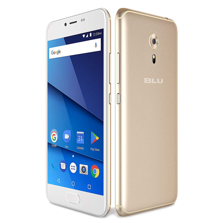 "BLU S1 S0320ww 5.2"" Smartphone 16GB GSM Unlocked Dual Sim 13MP Android - Gold"