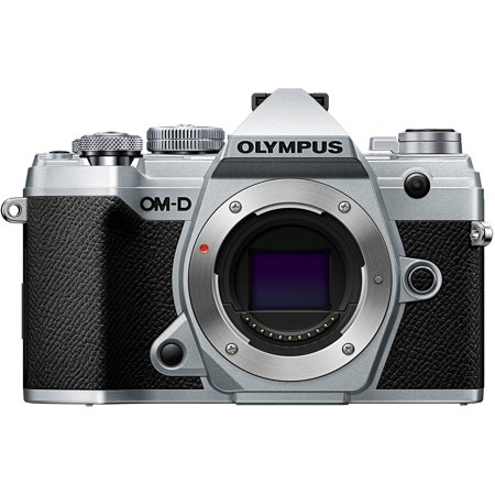 Olympus OM-D E-M5 Mark III Mirrorless Camera with Lens - Silver