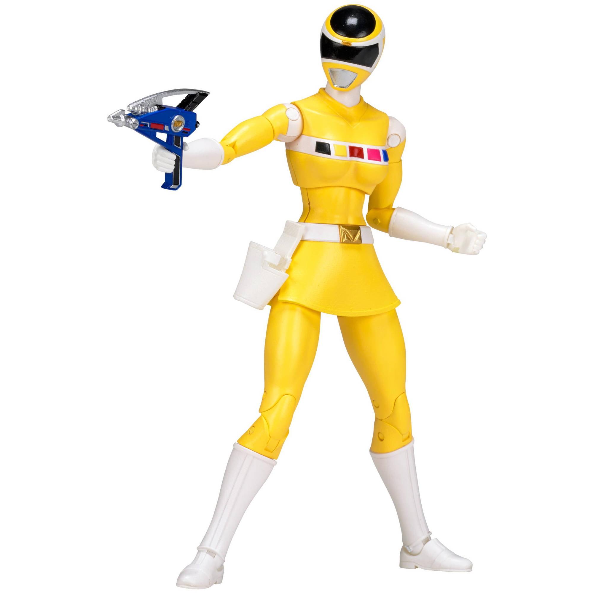 Power Rangers Legacy Mighty Morphin Movie Yellow Ranger - Walmart.com