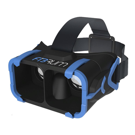 Fibrum Portable Virtual Reality Kit for 4-6 Inches Screen Smartphones FIBRUM_PRO -