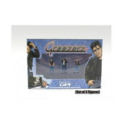 Greezerz 3pc Figure Set for 1:64 Diecast Model Cars by American Diorama