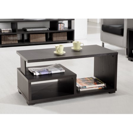 Flash Furniture Morristown Collection Coffee Table In Espresso Wood - Flash furniture coffee table
