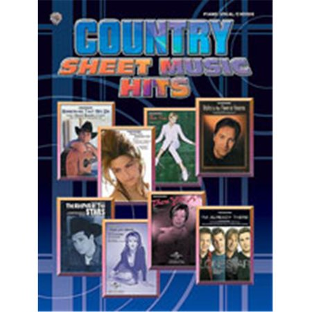 Alfred 00-MFM0322 Country Sheet Music Hits - Music Book