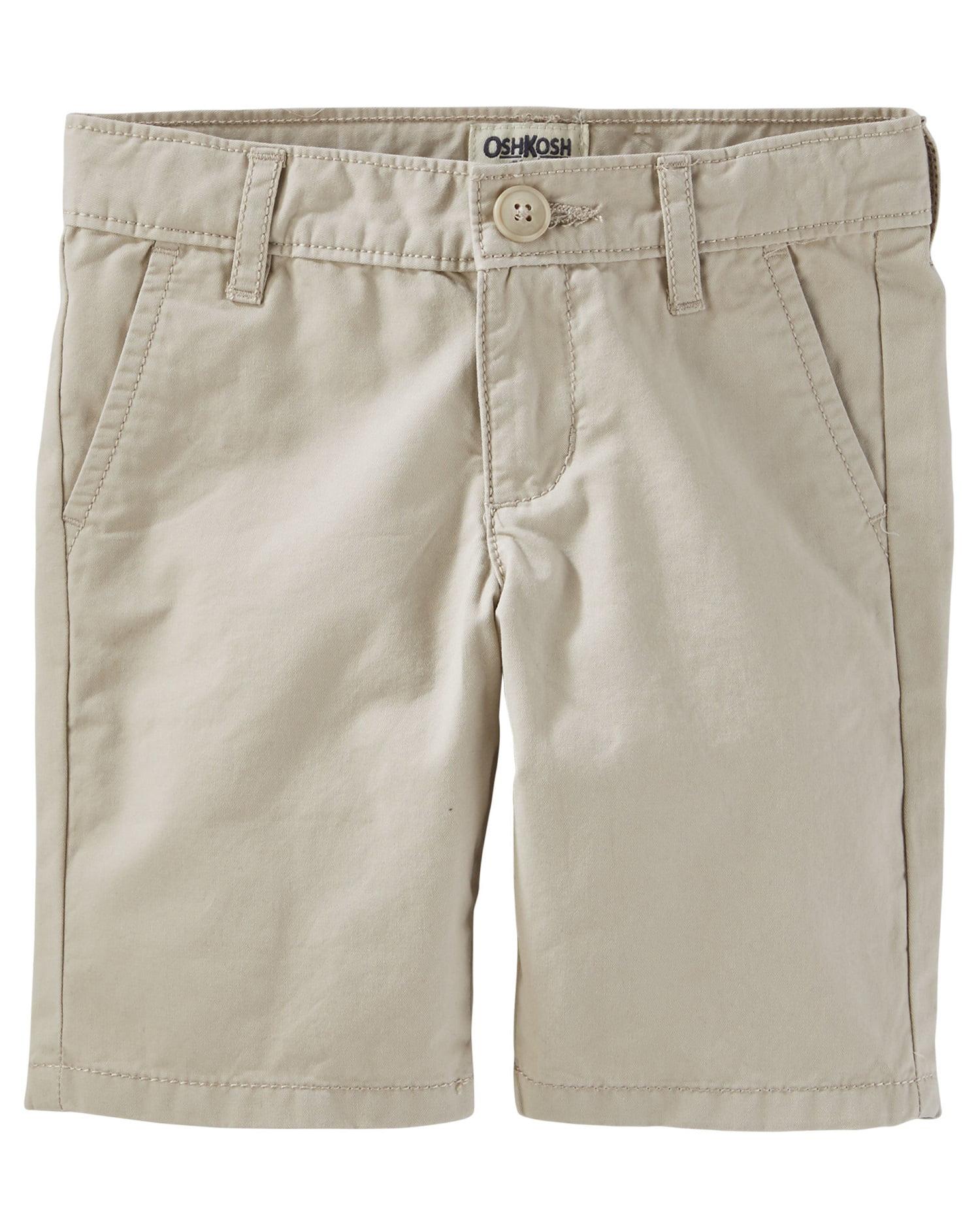 OshKosh B'gosh Little Girls' Classic Fit Uniform Shorts, 6 Kids