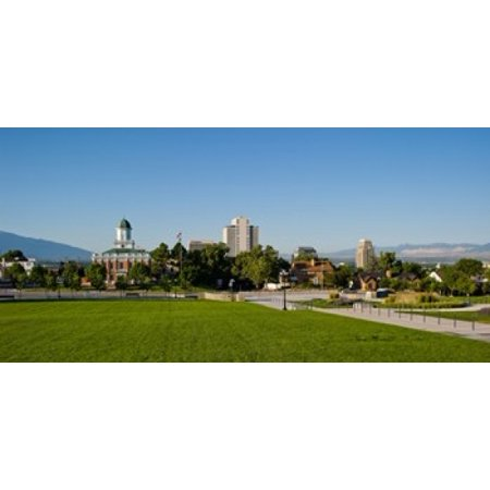 Lawn with Salt Lake City Council Hall in the background Capitol Hill Salt Lake City Utah USA Poster Print](Costume Shops In Salt Lake City)