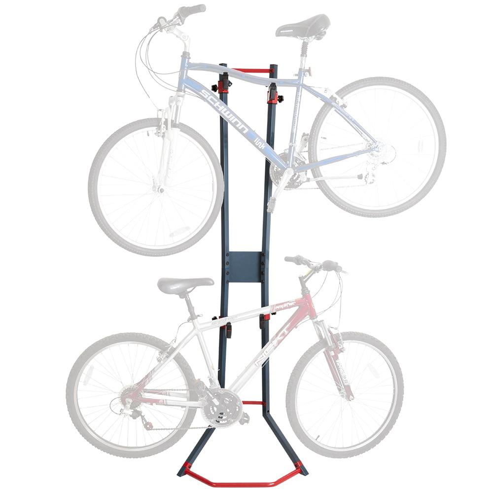 2-Bicycle Garage Wall Bike Storage Stand & Vertical Rack by Rage Powersports