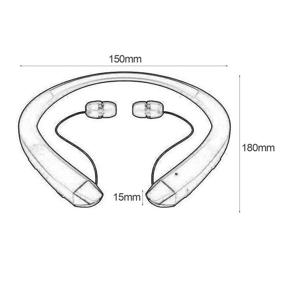 Headset Bluetooth Headset Sport Stereo Wireless Headphone