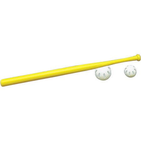 "Wiffle 32"" Plastic Yellow Wiffle Ball Bat"