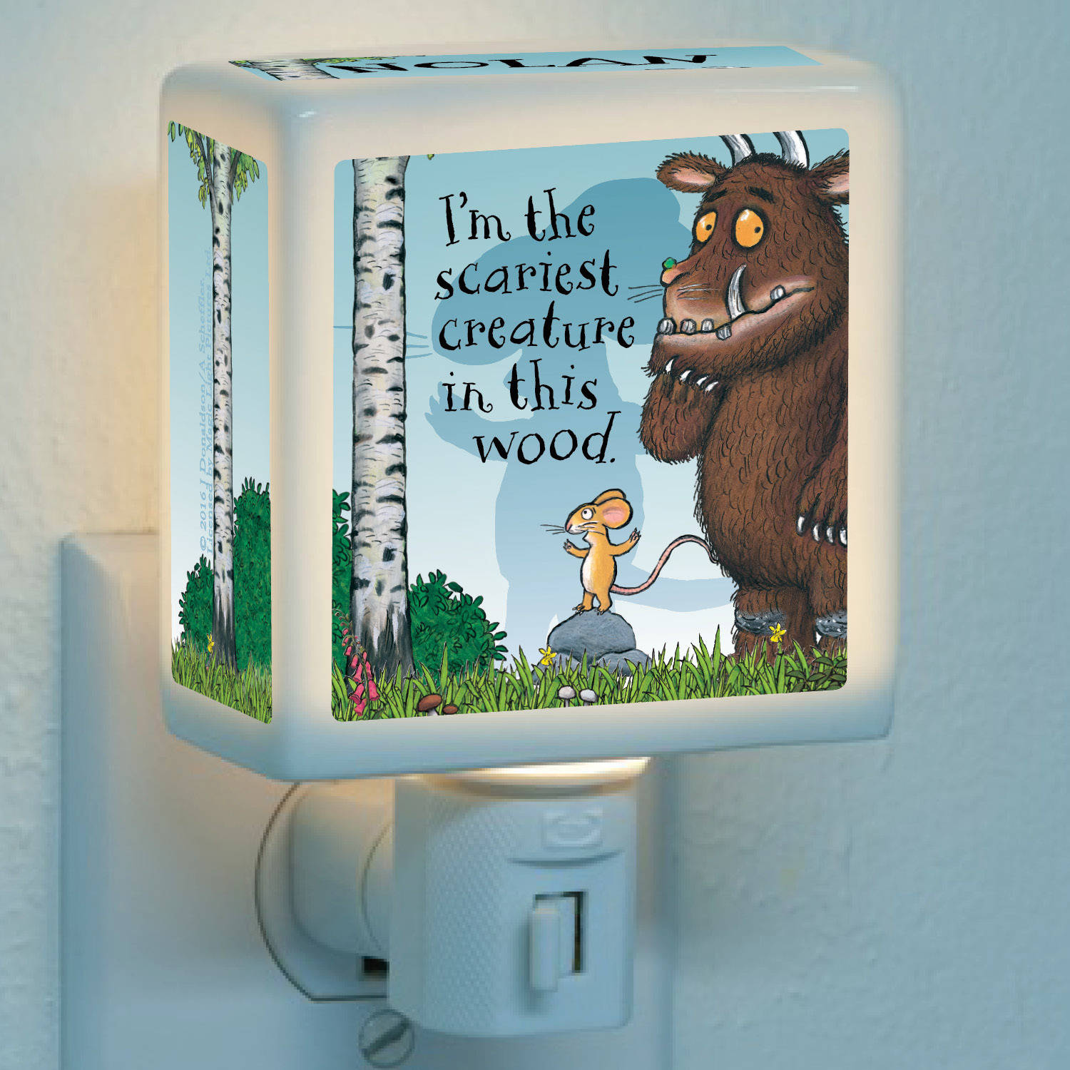 Personalized The Gruffalo Scariest Creature Nightlight by Generic