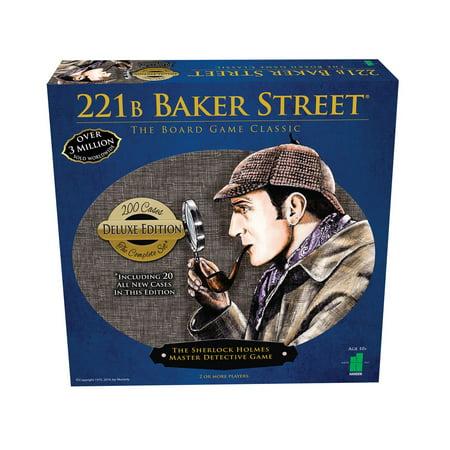 221b Baker Street Game - John N. Hansen Co. 221B Baker Street - The Master Detective Game - Deluxe Edition