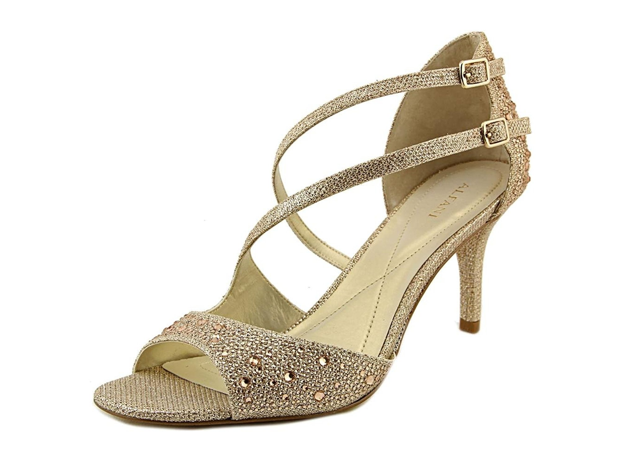 79ef2d30dde01 A35 Cremena Sparkle Strappy Dress Sandals
