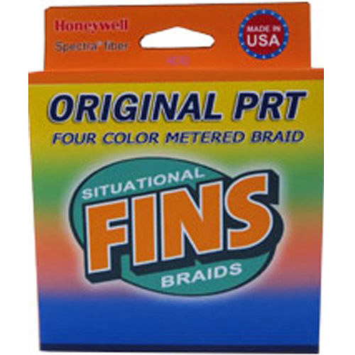 Fins Spectra Fishing Line, Multi Colored, Metered Every 25'