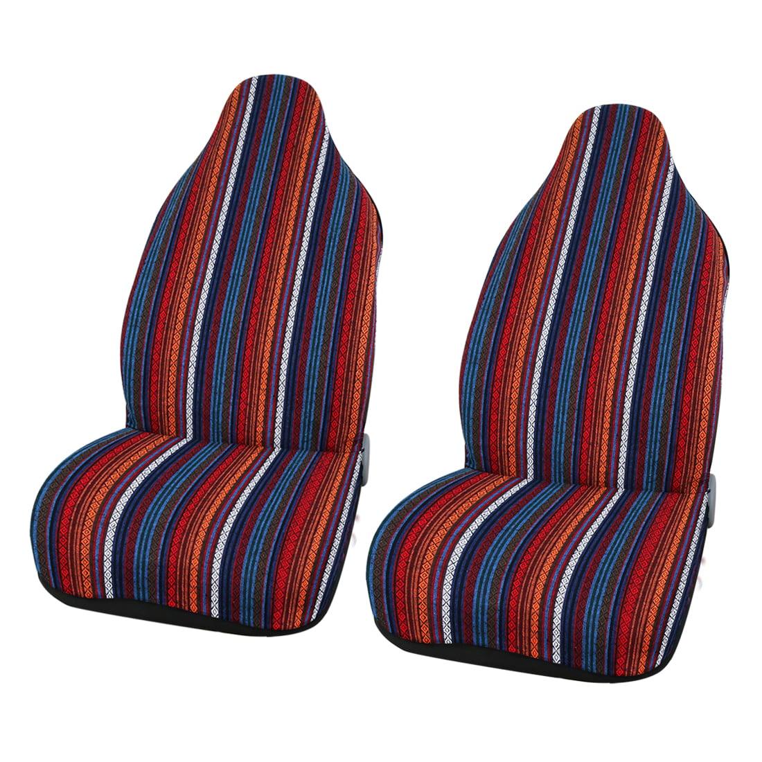 2pcs Universal Baja Blanket Car SUV Auto Bucket Front Seat Cover Protectors