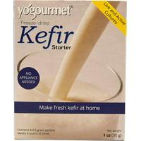 Kefir Starter, Freeze-Dried, 6 Packets, 5 g Each